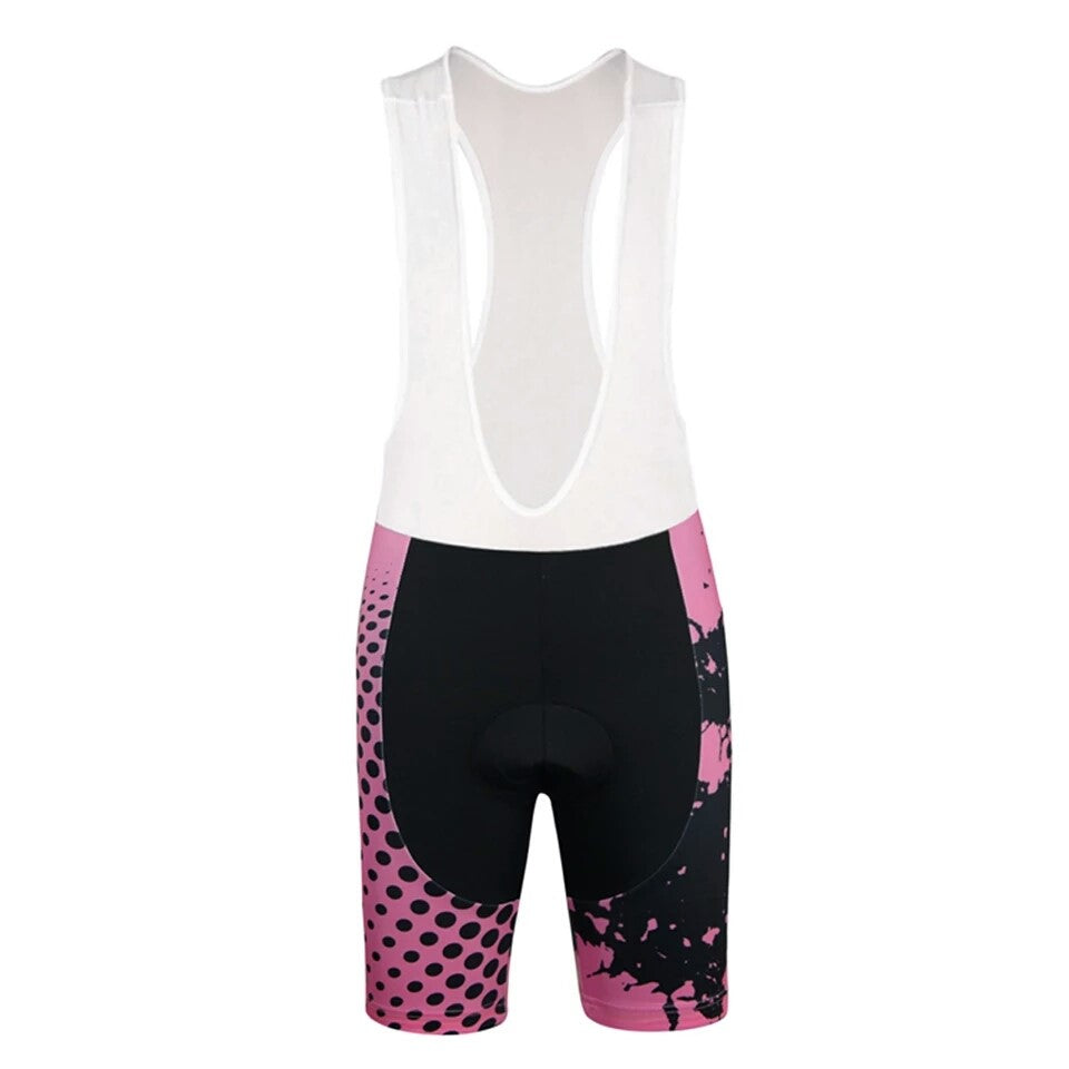 Women Bike Pink cycling set