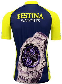 Festina Lotus retro cycling jersey