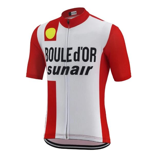La Boule d'or-Sunair Retro cycling jersey 1981