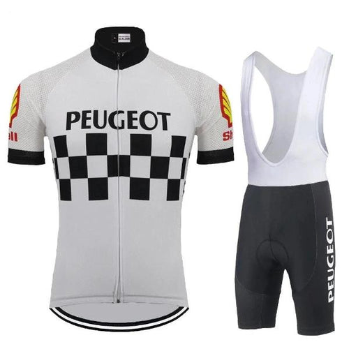 Peugeot Shell Vintage cycling race suit replica