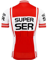 Super Ser retro cycling jersey 1975