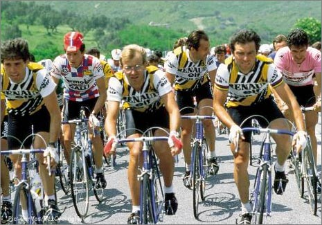 Renault team cycling