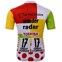 Tour de France combine vintage cycling jersey