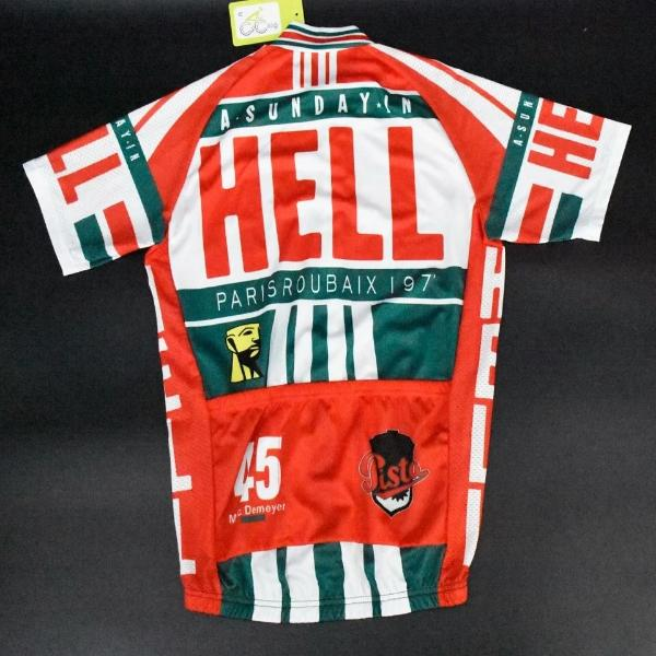 A Sunday in Hell Paris-Roubaix cycling jersey