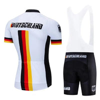 Team germany cycling jersey set