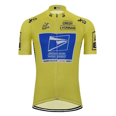 Details about  /Retro United States Postal Service USPS Cycling Jersey