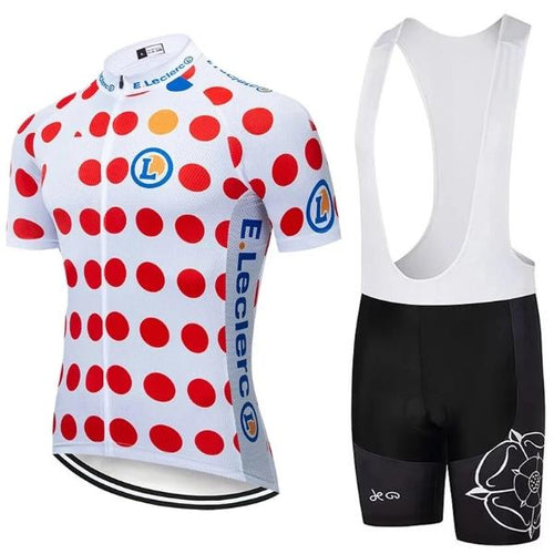 King of mountains Tour de France cycling set replica