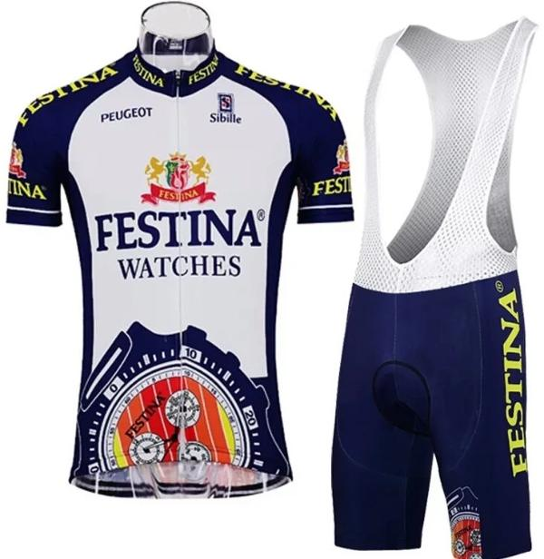 Vintage Festina cycling suit 90's