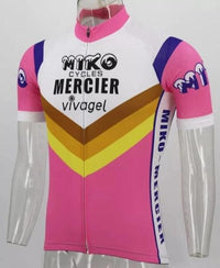 Miko-Mercier-Vivagel retro cycling jersey 81