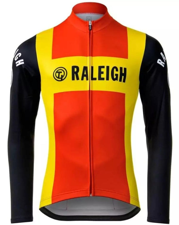 Retro cycling jersey Ti-Raleigh long sleeves