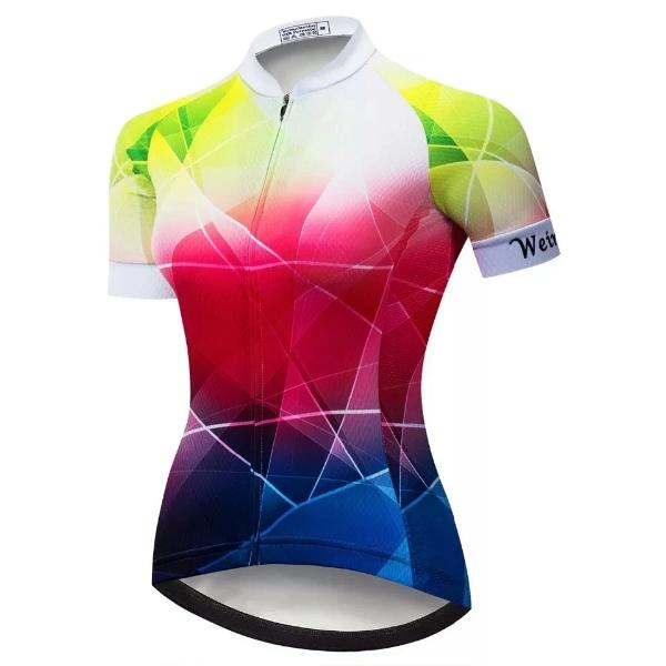 women triangle cycling jersey