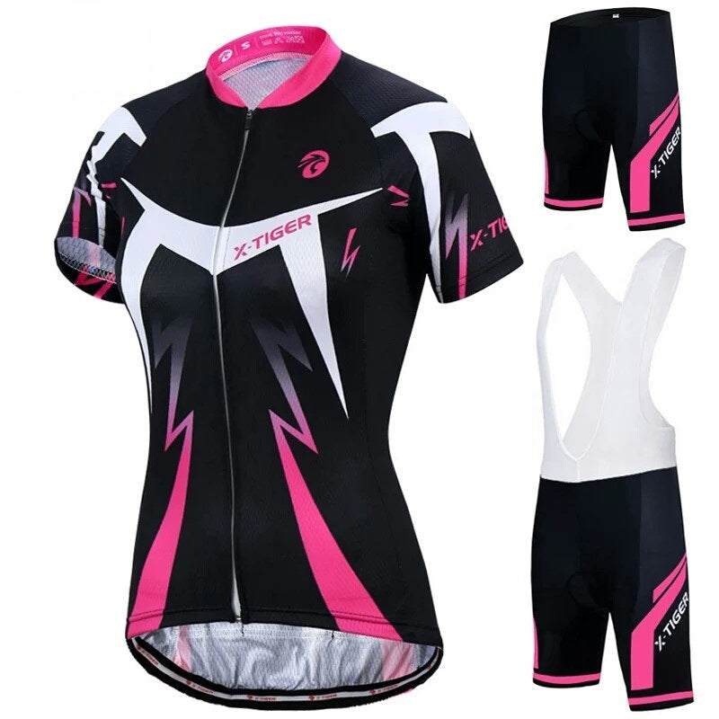X Tiger Women cycling set summer