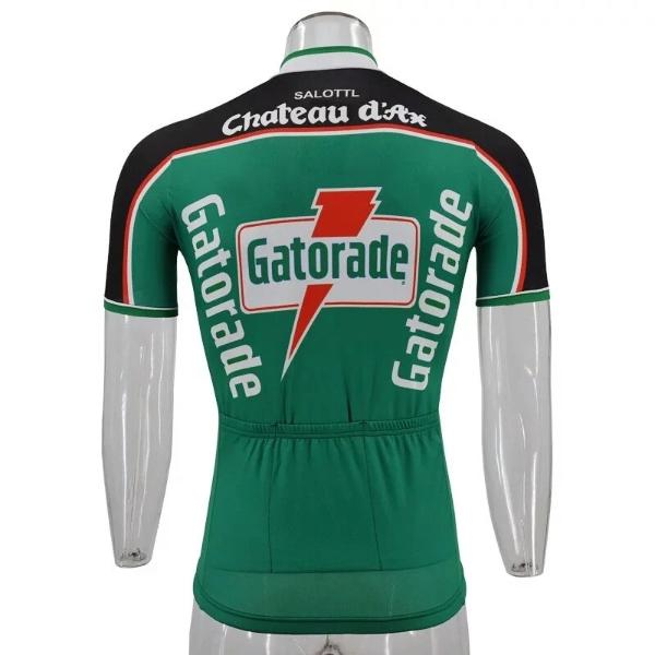 Gatorade Chateau d'Ax cycling jersey 1991