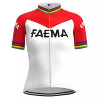 Women Faema retro cycling jersey 1969
