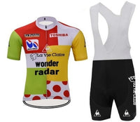 Retro combine cycling set Tour de France 85