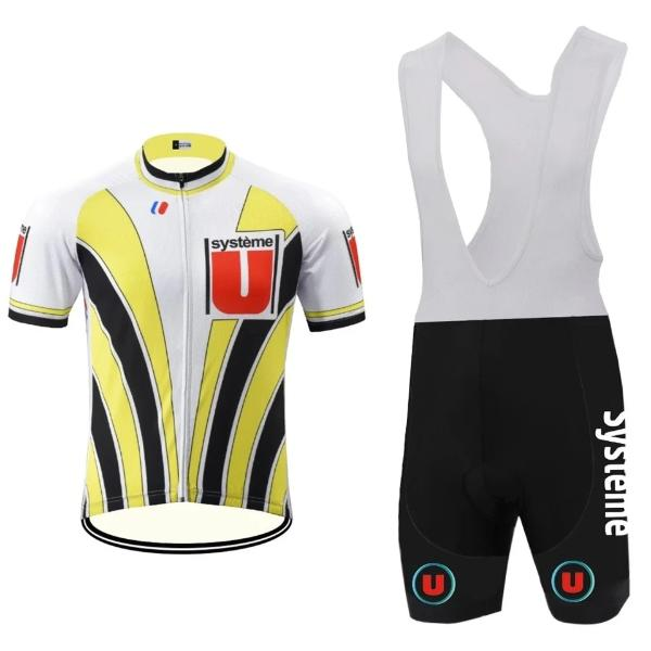 Cycling set Systeme U replica  Laurent Fignon 1989