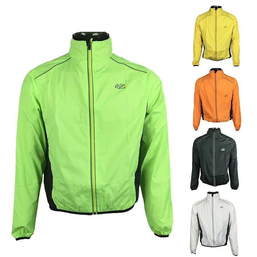 Waterproof cycling jacket tour de france
