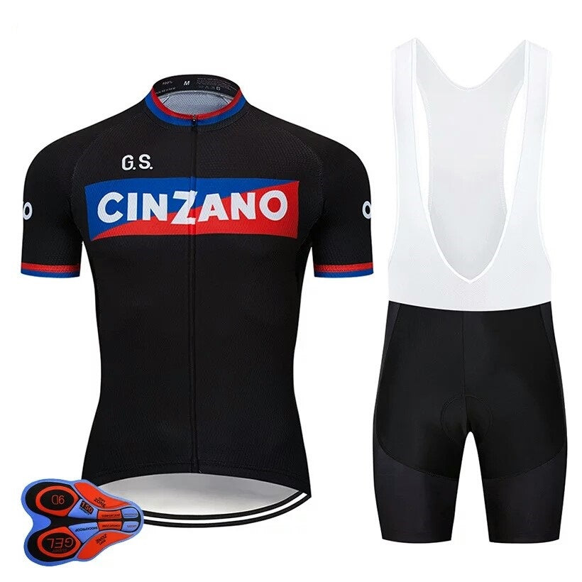 Cinzano vintage cycling race suit