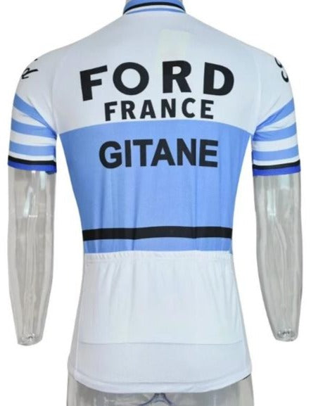 Ford France-Gitane retro cycling jersey 1965