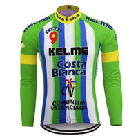 Kelme retro cycling jersey long sleeve