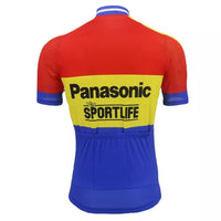 Panasonic Sportlife retro cycling jersey