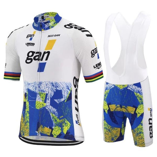 Gan retro cycling set 1993