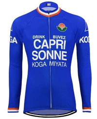 Capri Sonne vintage cycling suit long sleeve