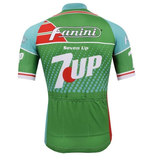 Fanini- Seven Up vintrage cycling jersey 1988
