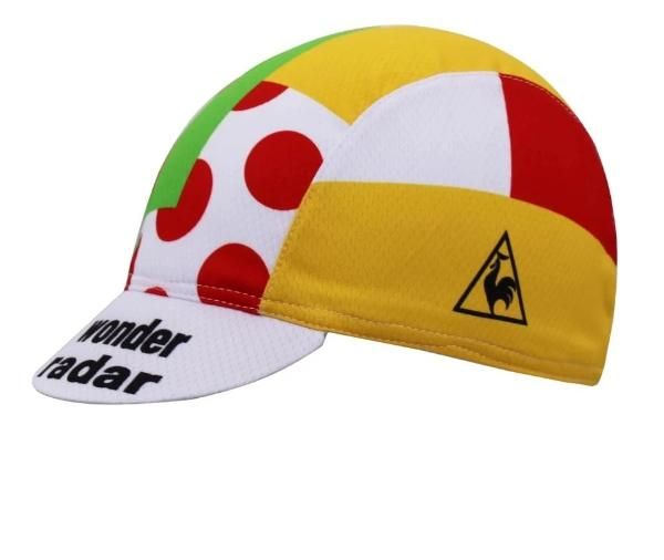 Cycling cap vintage Tour de France 1986 combiné