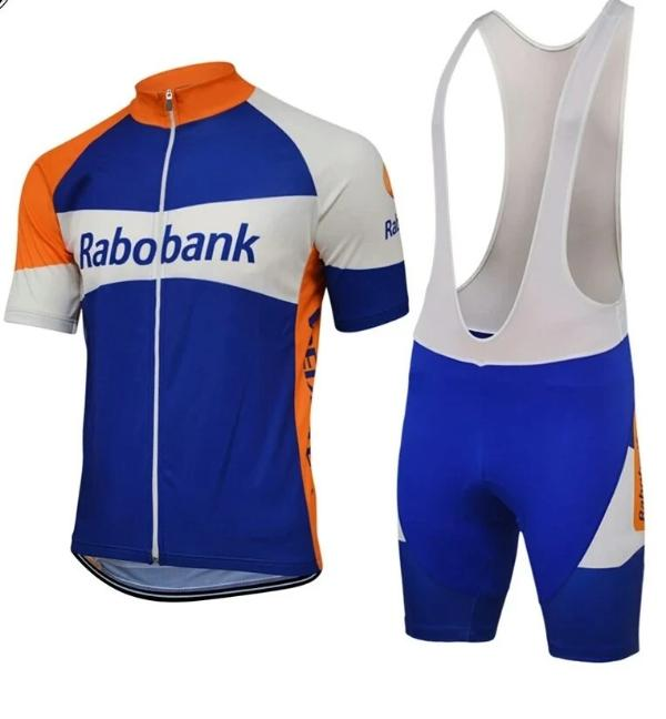 Rabobank vintage cycling set