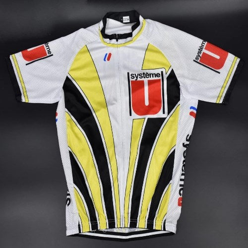 1989 Super U vintage cycling jersey