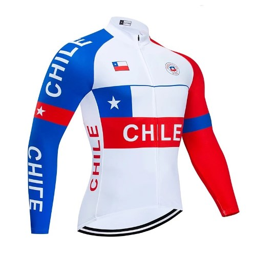 Chile national team cycling set long sleeve