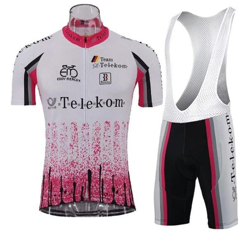 Vintage Deutsche Telekom cycling set
