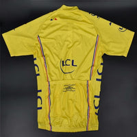 Yellow cycling Jersey Tour de France replica