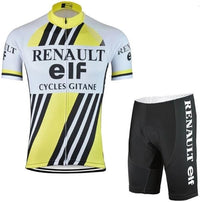 Vintage cycling set Renault Team Bernard Hinault
