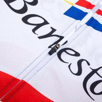 Banesto retro cycling jersey long sleeve