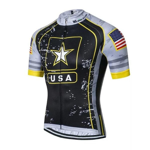 US Army Team cycling jersey short sleeve 28ac29793
