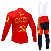 CCCP vintage cycling set long sleeve
