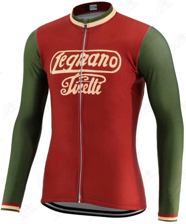 Legnano retro cycling jersey long sleeve