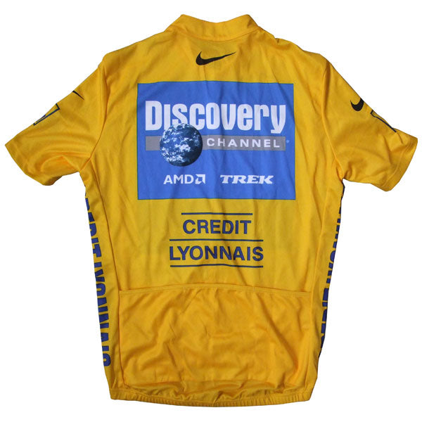 Discovery Channel yellow jersey TDF 2005