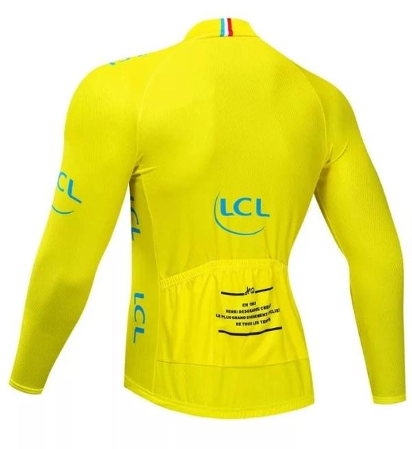 Tour de France long sleeve yellow jersey
