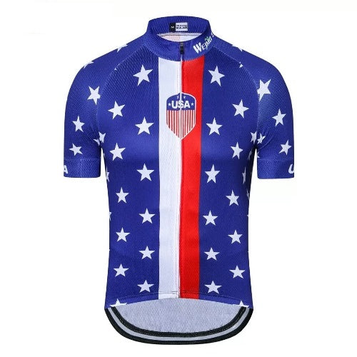 USA Flag cycling jersey