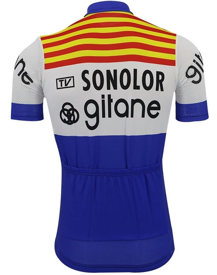 Sonolor-Gitane retro cycling jersey 1974