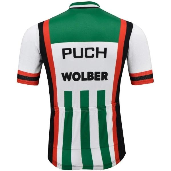 Puch Wolber vintage cycling jersey 1981