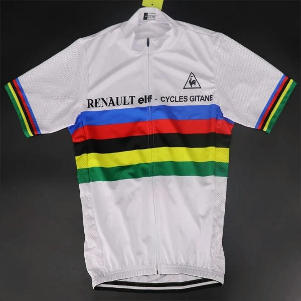 World champion cycling jersey 1981 Hinault