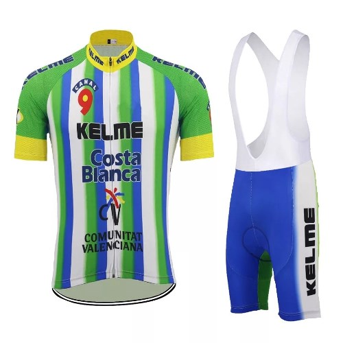 Team Kelme vintage cycling set