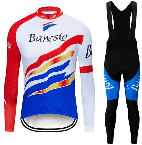 Banesto retro cycling set