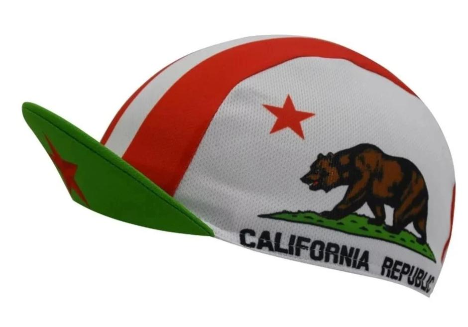 California Republic cycling cap