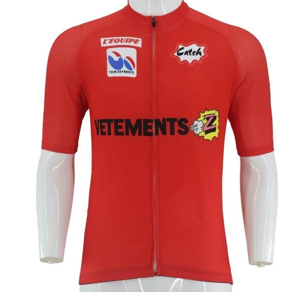 Vintage Z red cycling jersey Tour de France