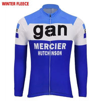 Gan-Mercier-Hutchinson cycling long sleeve jersey